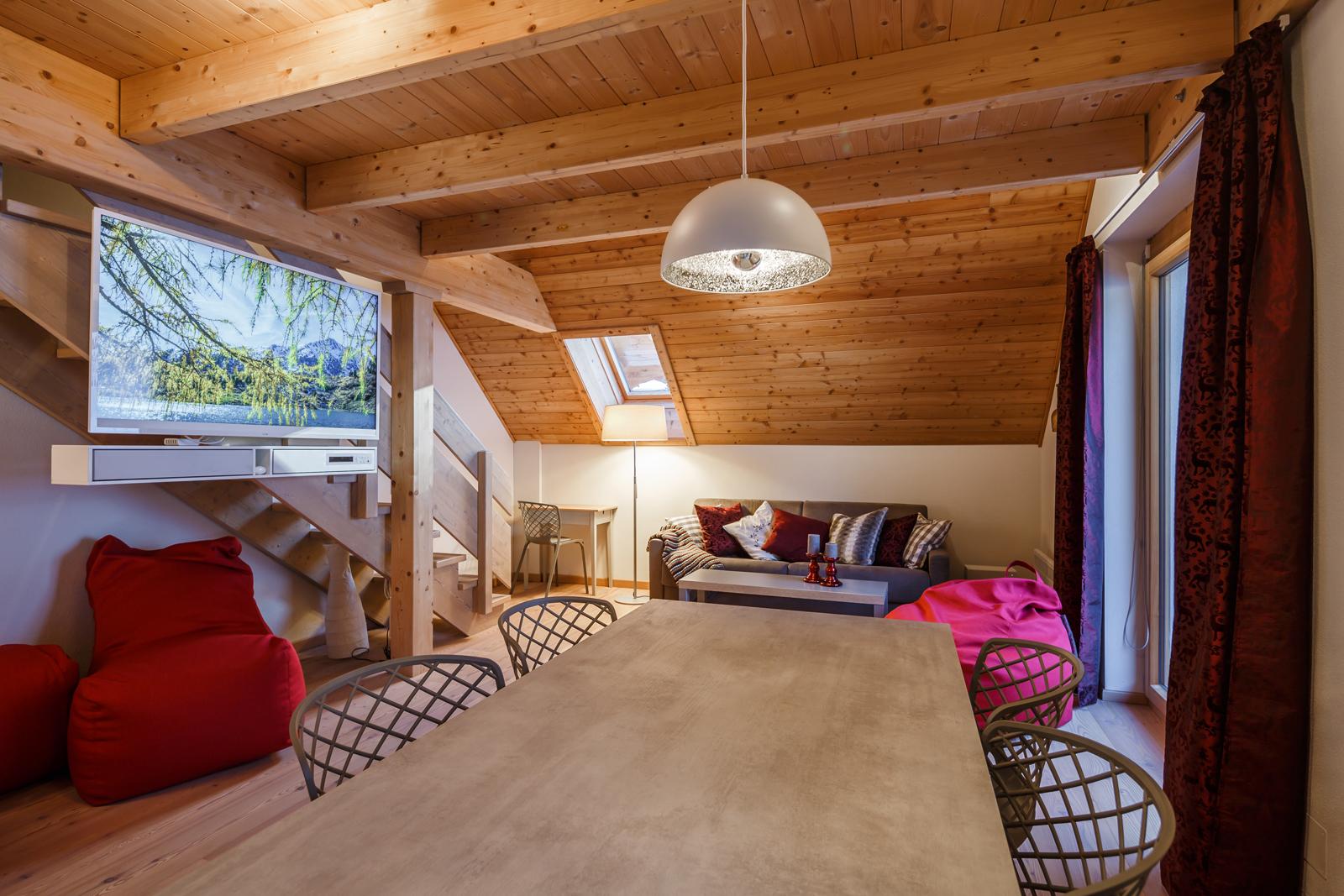 Wohnzimmer Brunnach T4